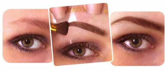 how to get perfect eyebrows at home step by step